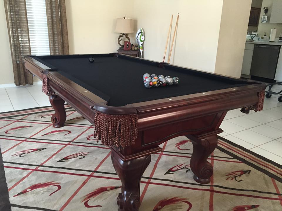 Pool Table Pros SW Florida Sarasota Bradenton - Pool table assembly service near me